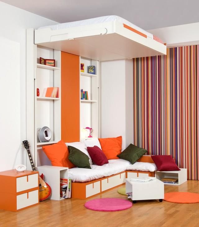 Những ý tưởng thiết kế giường siêu độc làm mới không gian trong nhà - Ảnh 1.