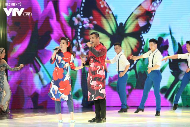 Mỹ Dung - Trương Thế Vinh hóa cặp đôi MC ăn ý trong Gala Cười 2018 - Ảnh 7.