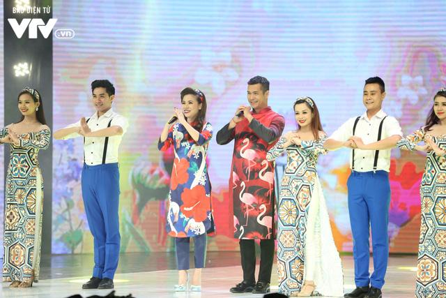 Mỹ Dung - Trương Thế Vinh hóa cặp đôi MC ăn ý trong Gala Cười 2018 - Ảnh 8.