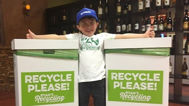 Mỹ: Cậu bé 8 tuổi làm chủ công ty tái chế rác thải nhựa - Ảnh 2.
