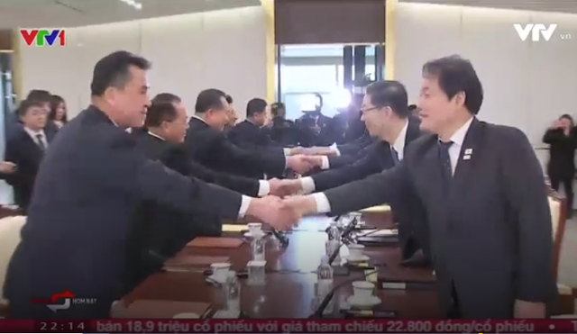 Kết quả tích cực của cuộc đàm phán liên Triều - Ảnh 1.
