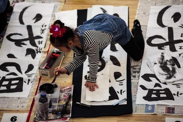 Thi thư pháp đầu năm mới - Nét văn hóa truyền thống tại Nhật Bản - ảnh 2