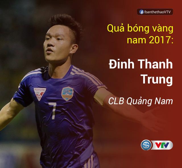 Thanh Trung, Kiều Trinh giành Quả bóng vàng Việt Nam 2017 - Ảnh 2.