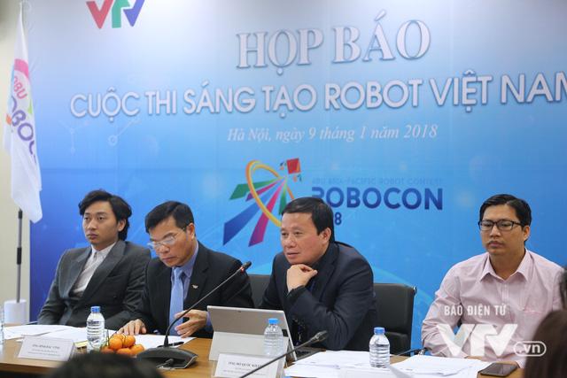 """Việt Nam đăng cai tổ chức Robocon châu Á - Thái Bình Dương 2018 với chủ đề """"Ném còn"""" - Ảnh 8."""