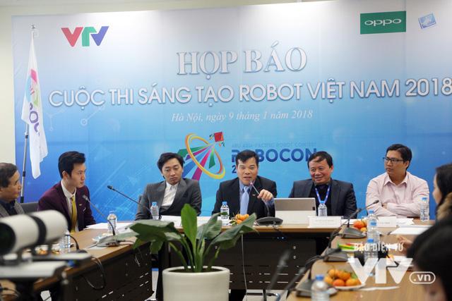 """Việt Nam đăng cai tổ chức Robocon châu Á - Thái Bình Dương 2018 với chủ đề """"Ném còn"""" - Ảnh 4."""