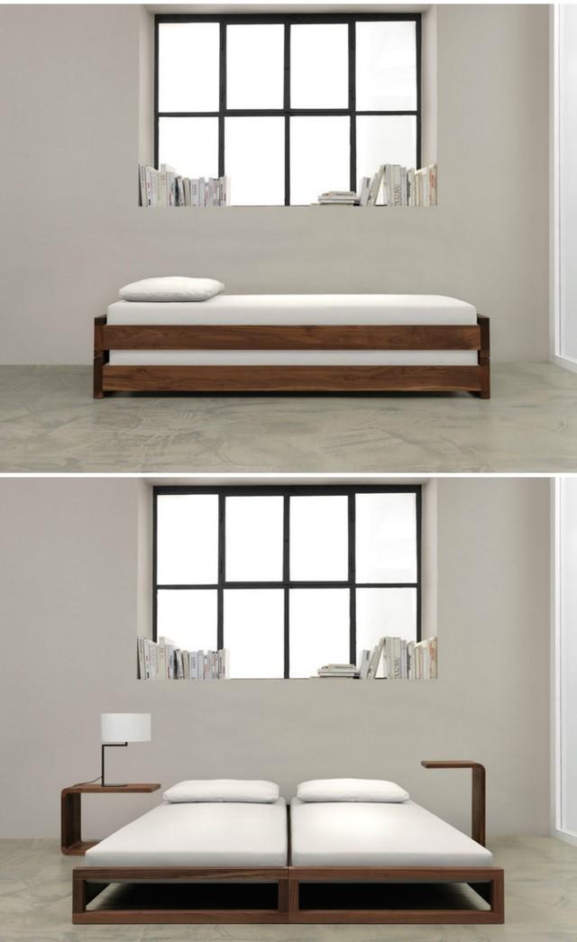 Những ý tưởng thiết kế giường siêu độc làm mới không gian trong nhà - Ảnh 8.