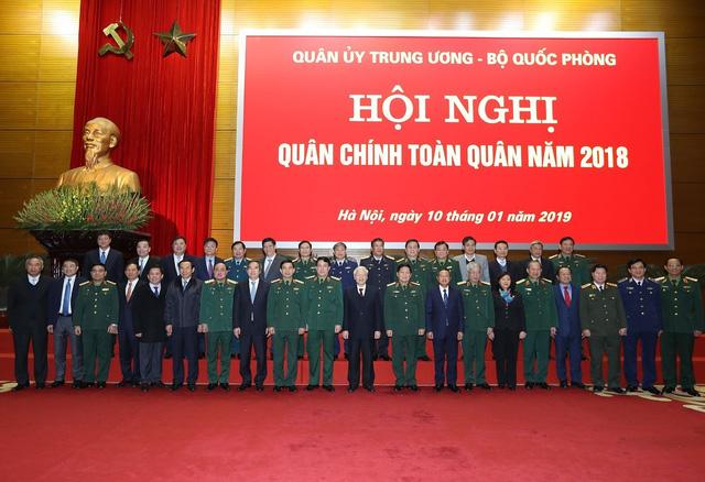 Tổng Bí thư, Chủ tịch nước Nguyễn Phú Trọng: Thắt chặt mối quan hệ máu thịt giữa Đảng, quân đội với nhân dân - Ảnh 1.