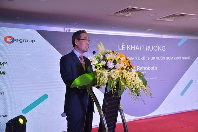 Chuỗi văn phòng chia sẻ kết hợp vườn ươm khởi nghiệp đầu tiên tại Việt Nam - Ảnh 1.