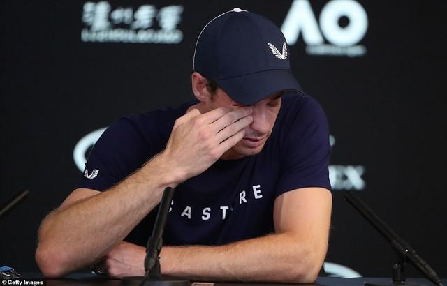 Murray đẫm lệ thừa nhận có thể giải nghệ sau  Australian Open 2019 - Ảnh 2.