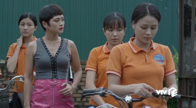 Những cô gái trong thành phố - Tập 8: Lâm đồ tể khiến cả xóm trọ khiếp sợ, Ly chanh chua gây hấn - Ảnh 4.