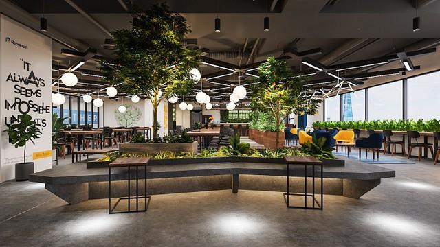 Chuỗi văn phòng chia sẻ kết hợp vườn ươm khởi nghiệp đầu tiên tại Việt Nam - Ảnh 2.