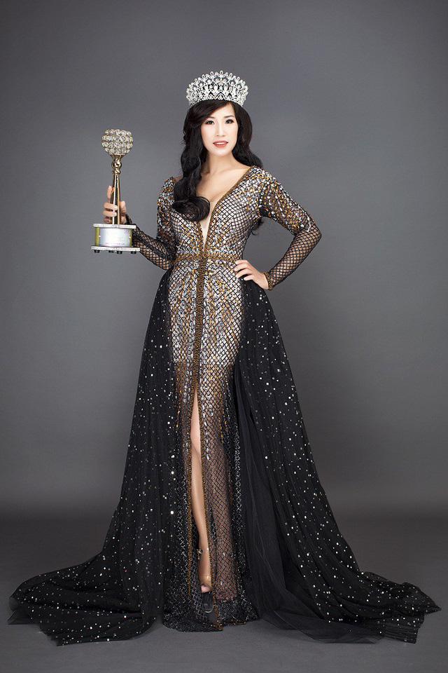 Đỗ Tình Nhi đăng quang Á hậu Doanh nhân thành đạt Hoàn cầu 2018 - Ảnh 1.