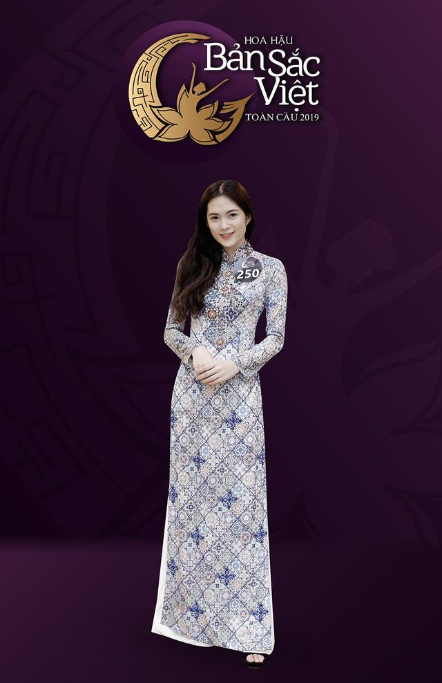 Những nhan sắc nổi bật của vòng Sơ khảo Hoa hậu Bản sắc Việt toàn cầu 2019 khu vực phía Nam - Ảnh 2.