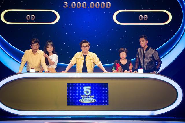 Chí Tài chế nhạc khiến khán giả cười bể bụng tại 5 vòng vàng kỳ ảo - Ảnh 4.