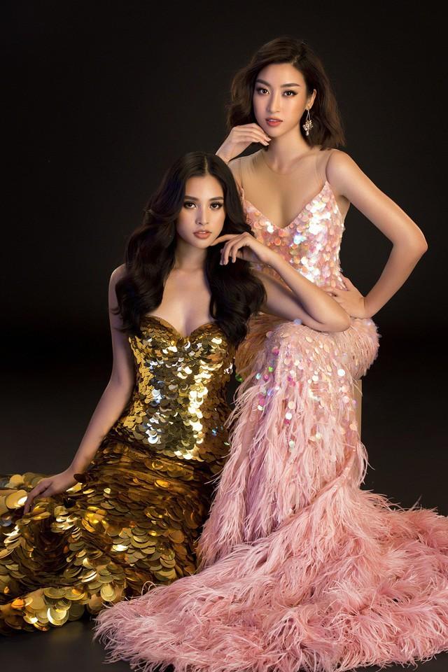 Hoa hậu Mỹ Linh, Tiểu Vy đọ dáng khoe vẻ đẹp một 9 một 10 - Ảnh 13.