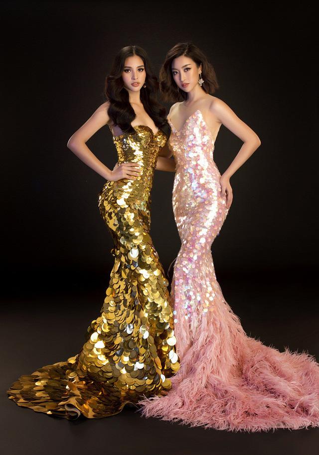 Hoa hậu Mỹ Linh, Tiểu Vy đọ dáng khoe vẻ đẹp một 9 một 10 - Ảnh 12.