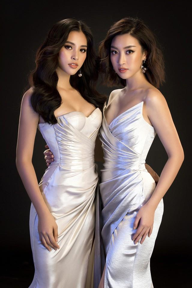Hoa hậu Mỹ Linh, Tiểu Vy đọ dáng khoe vẻ đẹp một 9 một 10 - Ảnh 5.