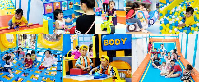 Cơn sốt khu chơi đa tầng liên hoàn dành cho bé yêu tại Việt Nam - Ảnh 4.