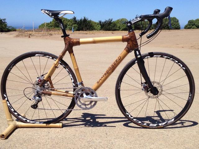 Độc đáo xe đạp làm từ tre thân thiện với môi trường - Ảnh 5.