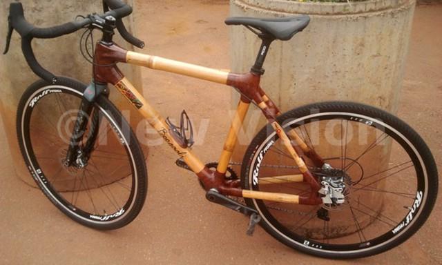 Độc đáo xe đạp làm từ tre thân thiện với môi trường - Ảnh 3.