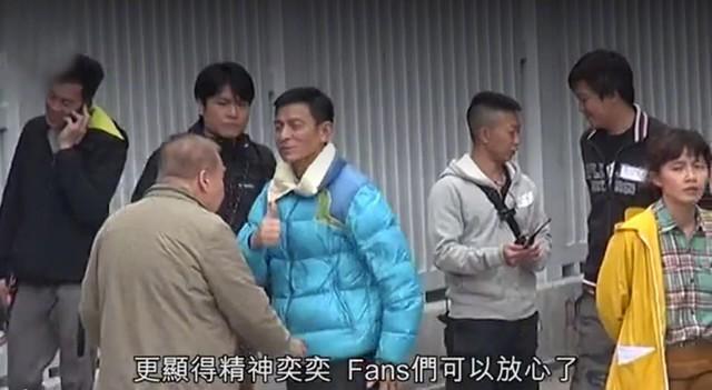 Lưu Đức Hoa trở lại với phim trường - Ảnh 1.