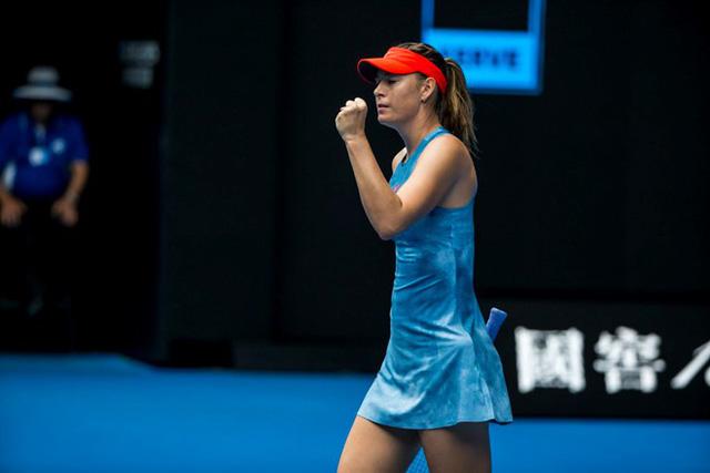 Australia mở rộng 2019: Sharapova biến Wozniacki thành nhà cựu vô địch - Ảnh 2.