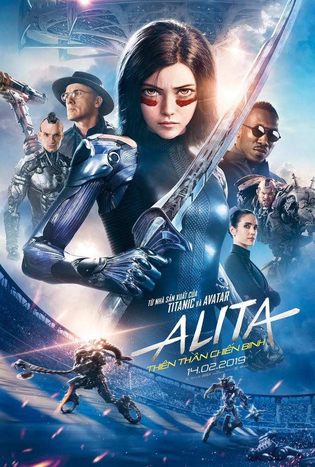 Quá trình tạo nên hình ảnh cực chất của nữ chiến binh Alita trong dự án phim Alita: Battle Angel - Ảnh 2.