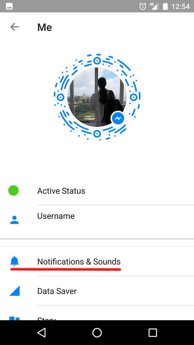 Mẹo tắt âm thông báo của Facebook Messenger trên iOS và Android - Ảnh 2.