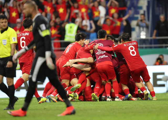 ẢNH: Những khoảnh khắc không quên của ĐT Việt Nam vượt qua ĐT Jordan ở vòng 1/8 Asian Cup 2019 - Ảnh 19.