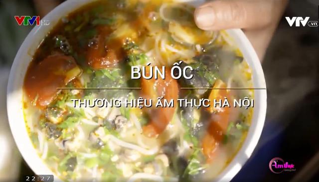 Bún ốc: Thương hiệu ẩm thực Hà Nội - Ảnh 1.