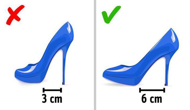 Những nguyên tắc đơn giản giúp đánh bay cơn đau chân bởi giày cao gót - Ảnh 1.