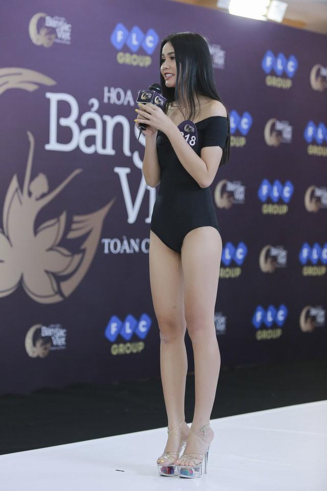 Ngắm vẻ đẹp gợi cảm của các thí sinh dự Sơ khảo miền Bắc Hoa hậu Bản sắc Việt toàn cầu 2019 - Ảnh 3.