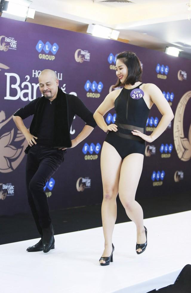 Ngắm vẻ đẹp gợi cảm của các thí sinh dự Sơ khảo miền Bắc Hoa hậu Bản sắc Việt toàn cầu 2019 - Ảnh 8.