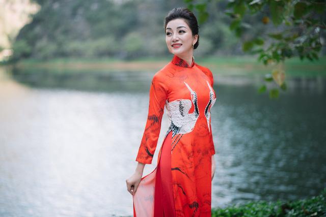 Mãn nhãn màn trình diễn áo dài Xuân với Tết Nghĩa là hy vọng 2019. - Ảnh 10.