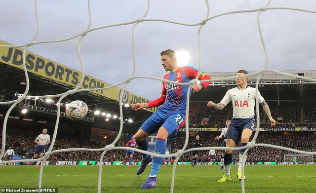 Vòng 4 FA Cup: Không có Son Heung-min, Tottenham bị loại bởi Crystal Palace - Ảnh 1.
