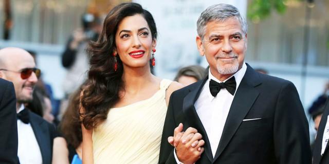 Nhìn lại chuyện tình của cặp đôi quyền lực George Clooney và Amal sau tin đồn rạn nứt - Ảnh 1.