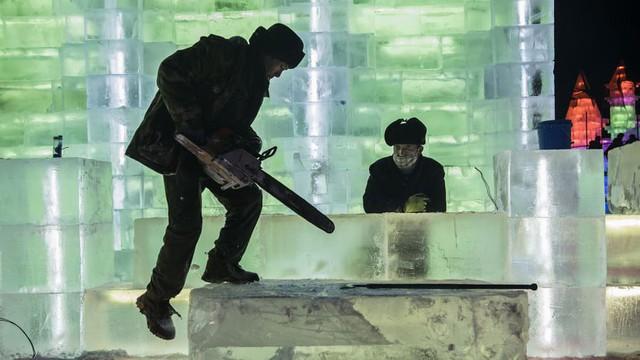 Trải nghiệm cảm giác lạnh buốt răng tại lễ hội băng lớn nhất thế giới ở Trung Quốc - Ảnh 2.