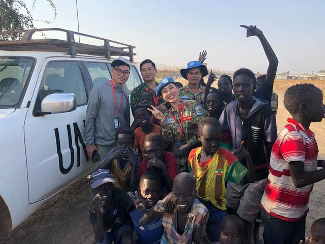 TẾT NGHĨA LÀ HY VỌNG - Đón Tết từ bệnh viện dã chiến Nam Sudan - Ảnh 8.