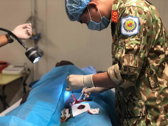 TẾT NGHĨA LÀ HY VỌNG - Đón Tết từ bệnh viện dã chiến Nam Sudan - Ảnh 2.
