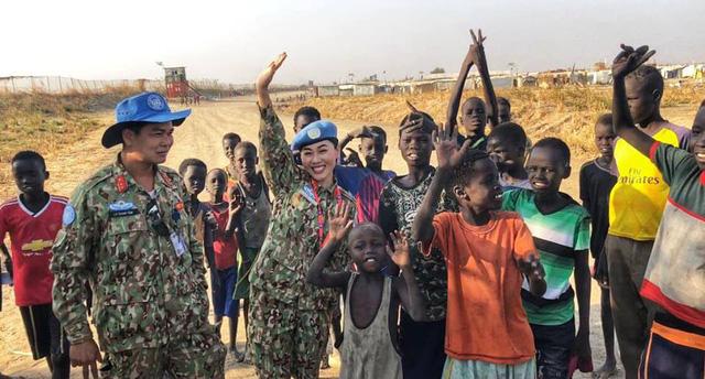 TẾT NGHĨA LÀ HY VỌNG - Đón Tết từ bệnh viện dã chiến Nam Sudan - Ảnh 9.