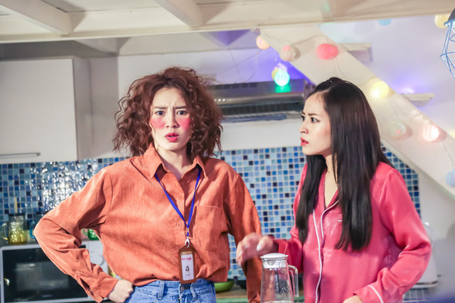 Chi Pu - Ninh Dương Lan Ngọc gọi nhau là vợ - chồng trong phim mới - Ảnh 2.