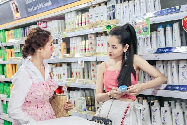 Chi Pu - Ninh Dương Lan Ngọc gọi nhau là vợ - chồng trong phim mới - Ảnh 1.