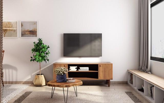 Căn hộ có nội thất làm bằng gỗ tự nhiên - Ảnh 2.