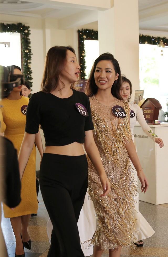 Sôi động vòng Sơ khảo Hoa hậu Bản sắc Việt toàn cầu 2019 khu vực phía Nam - Ảnh 4.