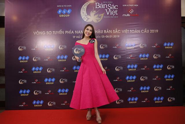 Sôi động vòng Sơ khảo Hoa hậu Bản sắc Việt toàn cầu 2019 khu vực phía Nam - Ảnh 3.