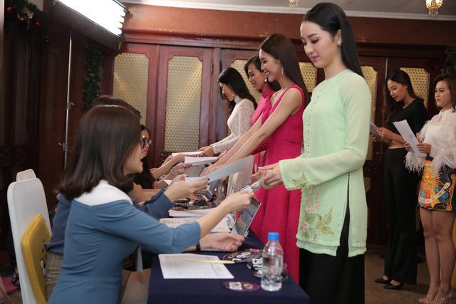 Sôi động vòng Sơ khảo Hoa hậu Bản sắc Việt toàn cầu 2019 khu vực phía Nam - Ảnh 6.