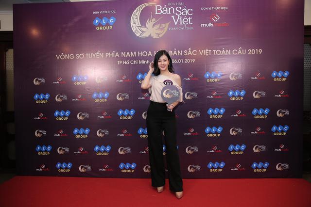 Sôi động vòng Sơ khảo Hoa hậu Bản sắc Việt toàn cầu 2019 khu vực phía Nam - Ảnh 7.