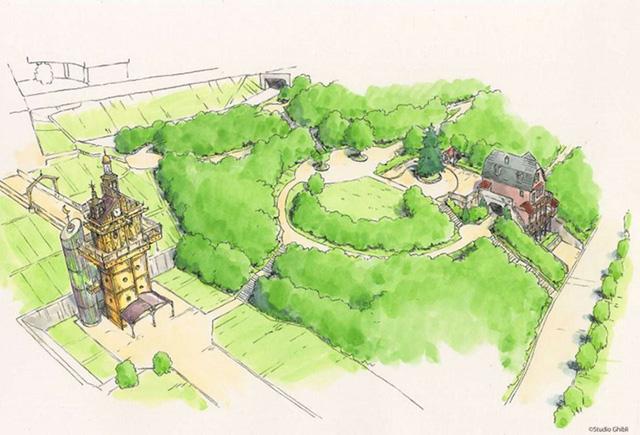 Sẽ có công viên giải trí về hãng phim huyền thoại Totoro - Ảnh 2.