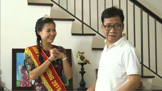 """Phim Gia đình 4.0: Cô Eo Chang Hy gần """" tắc thở"""" vì cuộc thi hoa khôi - Ảnh 3."""