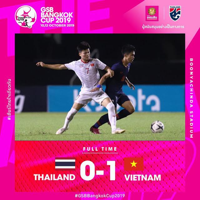 Cùng lúc ĐT Việt Nam chiến thắng, U19 Việt Nam đánh bại U19 Thái Lan ở phút 90+3 - Ảnh 2.